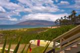 Kamaole Beach Park 3 Number 2 - Lifeguard Tower and Surfboard
