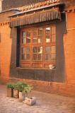 Tipical Tibetan window
