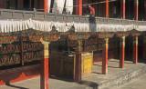 Inner court of a monastry