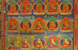 Wall paintings in a monastry