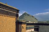 Gyantse. View on the Dzong