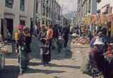 Lhasa, Barkhor Street