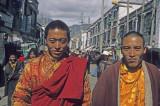 Lhasa, People in Barkhor Street
