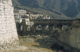 Drepung, remaining traces of the devastation of the monastry by the Chinese