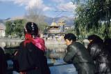 Lhasa, Tibetans at leisure