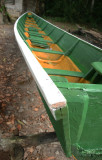Constructing traditional canoes (korjalen) is the main source of incom at Haarlem.