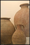 Pots used for storing food and water