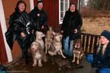 18/1 2012 Little rain don´t stop dogwalks