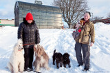 Groupshot from Doggie-meetup February 12, 2012