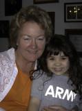 Grandma Cheryl and Layla