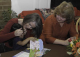 Anabelle, Grandma Nancy and Grandma Cheryl