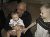 Cortland, Grandpa Brent and Jacob