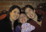 Auntie Jessyca, Danaka and Auntie Amanda