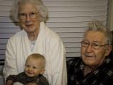 Grandma Lola, Jackson and Papa John