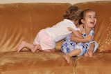 Attacked by the little sister!