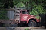 old fruit truck
