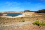 Reservoir at 40 percent full