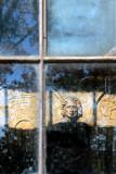 Sculpture in the window ~