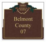 Belmont County Historical Markers