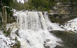 Blackwater Falls from lower obs. deck
