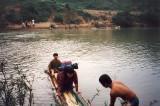 Cuc Phuong trek river crossing