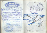 Iranian Passport Stamp