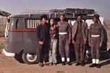 Afghanistan 1976 return route