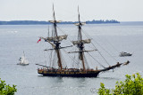 Flight of the Royal George - War of 1812-14 Reenactment