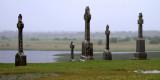 Cloncmacnoise Abbey, rainy weather