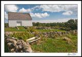 Barn, Wall, Water