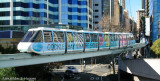 Monorail heading to Darling Harbour