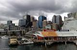 Clouds gather over Sydney CBD