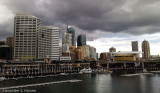 Darling Harbour darkness