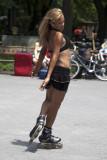 Roller Blading - Central Park