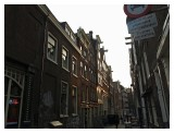 The many narrow alley of Amsterdam