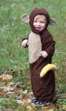 Monkey on the run.
