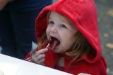 Little Red gets a little red lollipop