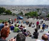 From the steps of La Basilique du Sacré Coeur de Montmartre
