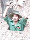 Tunnel de Cu Chi pendant la Guerre