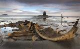 Saltwick Bay Wreck and Nab