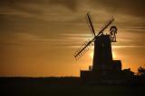 Cley windmill - dawn