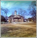 1976 Colonial Williamsburg Courthouse