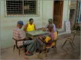 A Domino Game in  Anse La Raye