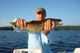 6.7lb, 25 inch Lake Trout - caught 7/25/08 on Lake Winnipesaukee