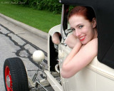 Titania And 1932 Ford