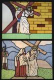 Muestra de Vitrales en las Ventanas de la Iglesia