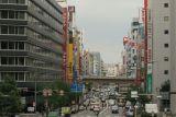 Una de las Calles mas Transitadas de Osaka