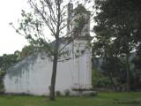 Vista Exterior de un Costado de las Ruinas