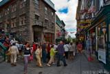 Crowds on Rue Sous-le-Fort