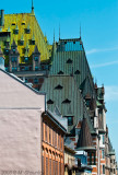 Colorful DowRoof of Chateau Frontenac